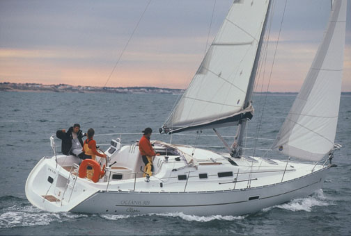 BENETEAU OCEANIS 323 croatia sailing yachts charter, sailingyacht charter ...